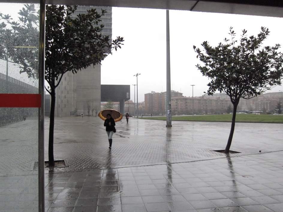 La nieve da paso a intensas lluvias en un fin de semana con temperatur...