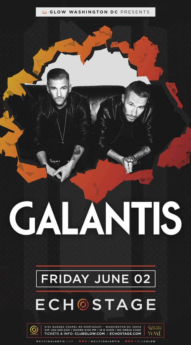 Tickets for @wearegalantis on June 2nd are on sale NOW!  Tickets:
