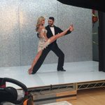 Hard to imagine it was just a yr ago when Tony & I realized I actually could do this with my leg 😂 #fbf #DWTS @TonyDovolani @DancingABC