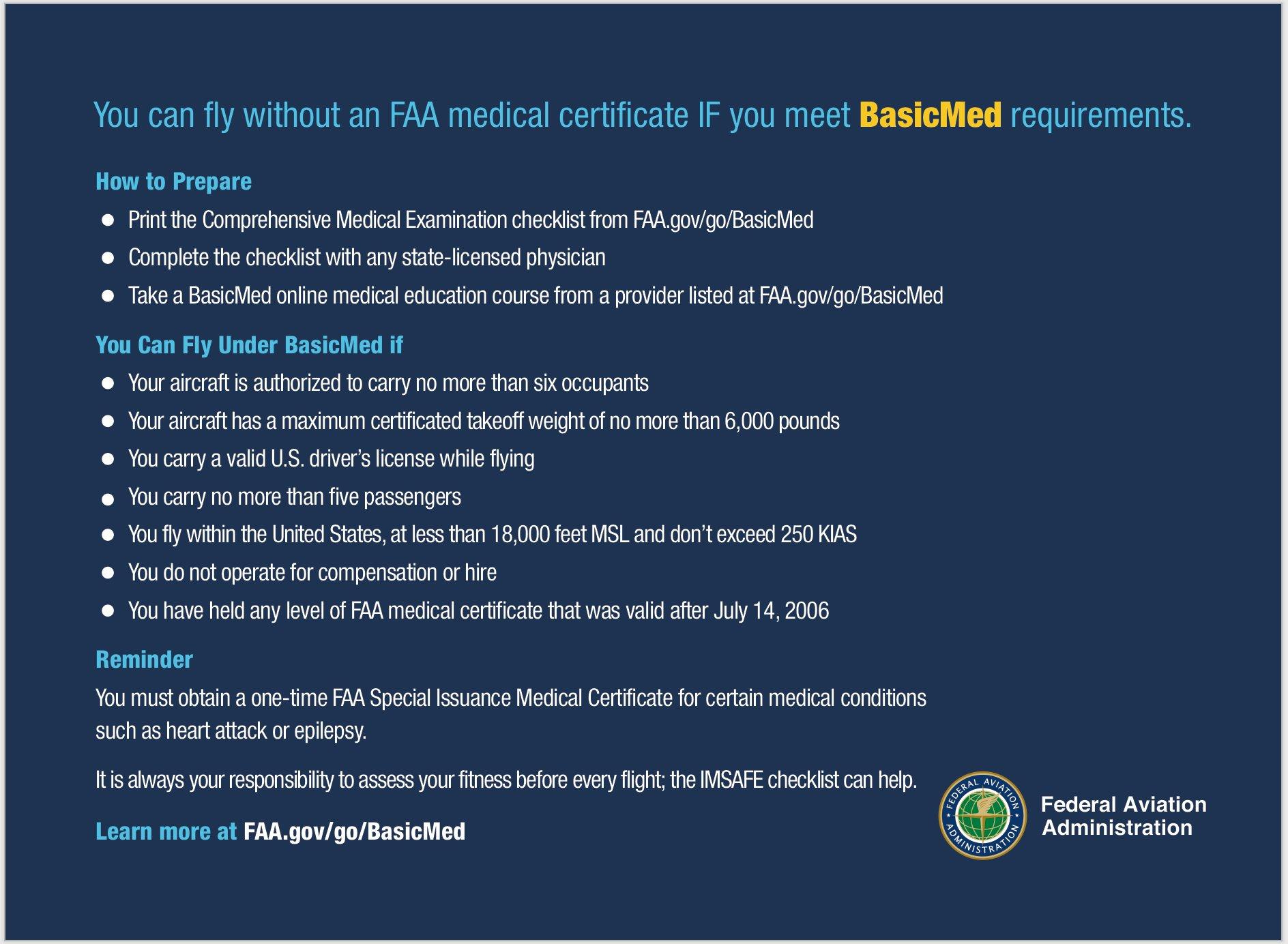 medical faa certificate aviation requirements nova
