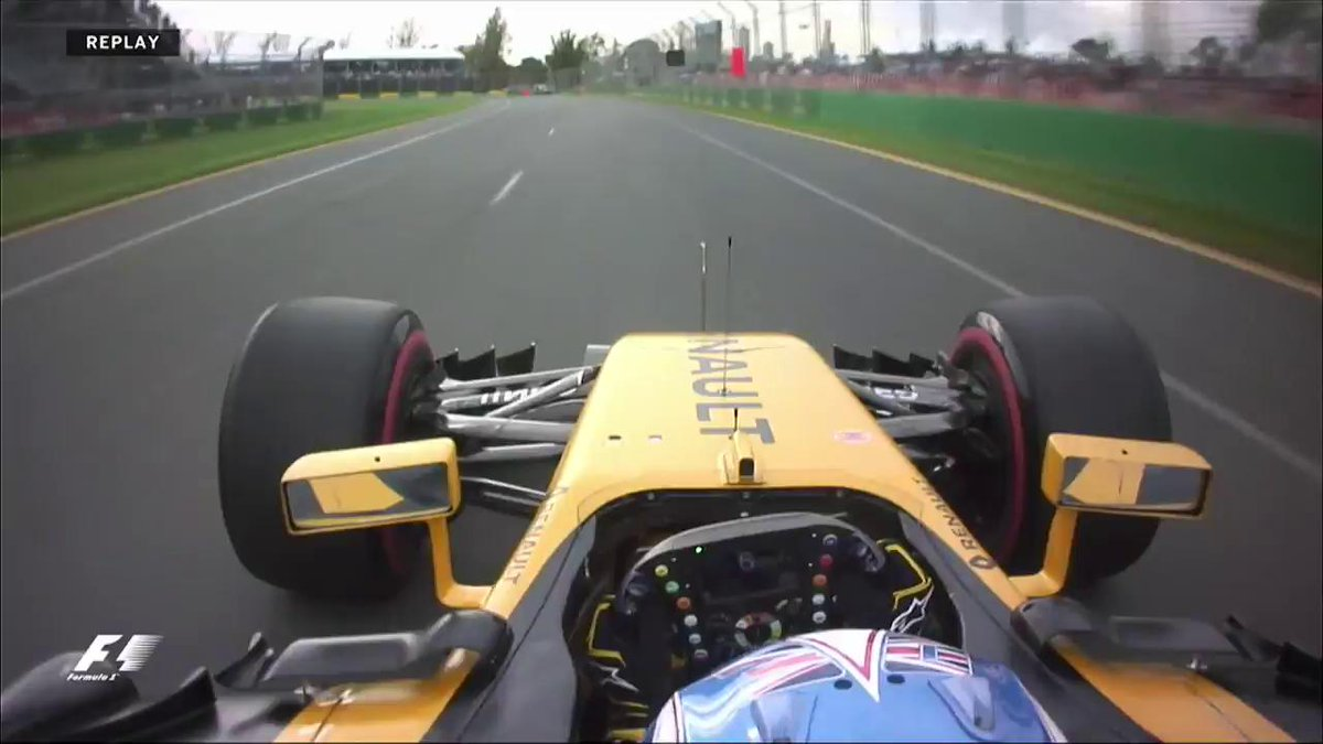 ICYMI: Friday practice came to an abrupt end for Jolyon Palmer  #F1isB...