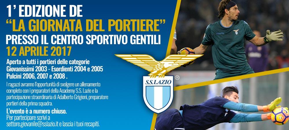 Allenamento Lazio portiere
