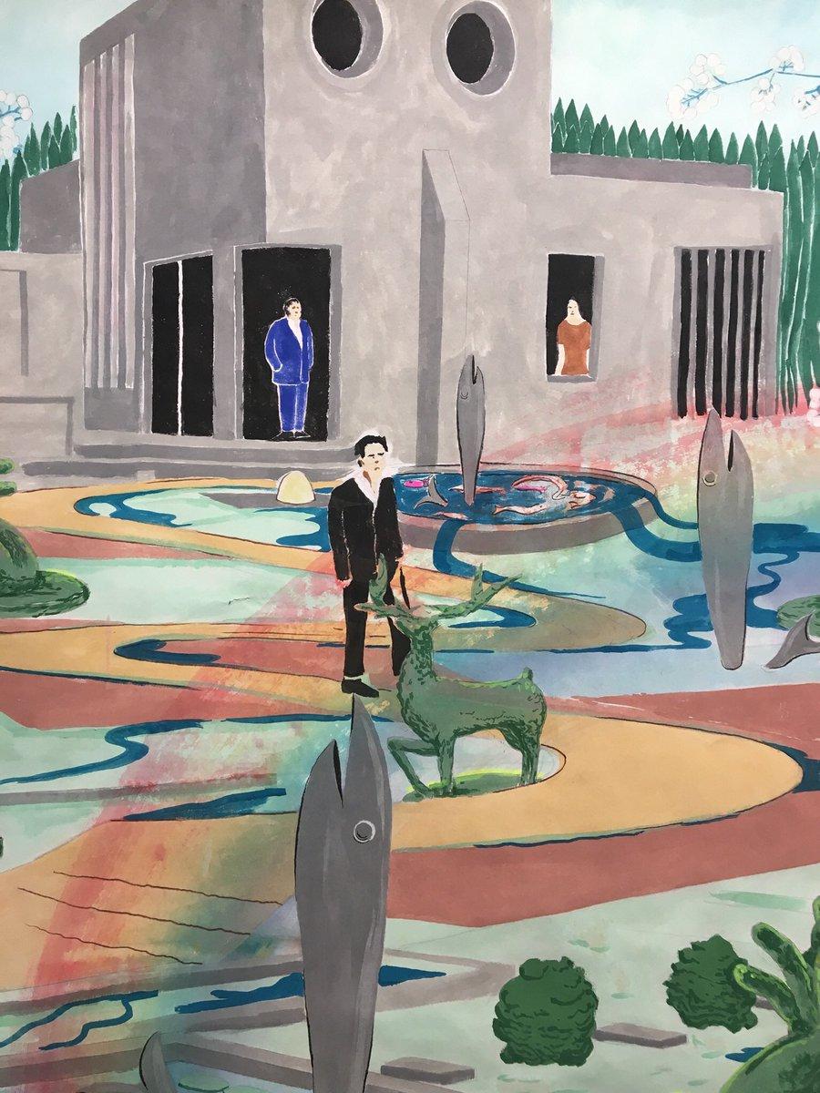 @DRAWINGNOWPARIS l&#39;œuvre de @AntoineCarbonne à #galerieVirginieLouvet stand E15 #dessin #dessincontemporain #jardindemononcle #2017 #detail <br>http://pic.twitter.com/CbwTaOAzXr