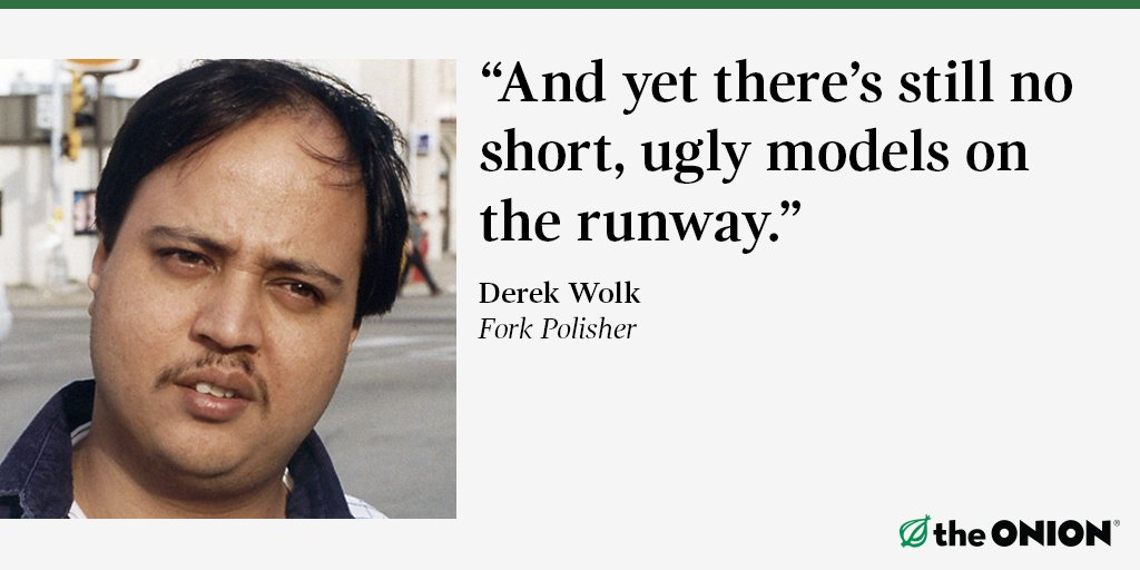 Fashion Week Diversity Improving trib.al/YLsjfoq #WhatDoYouThink?