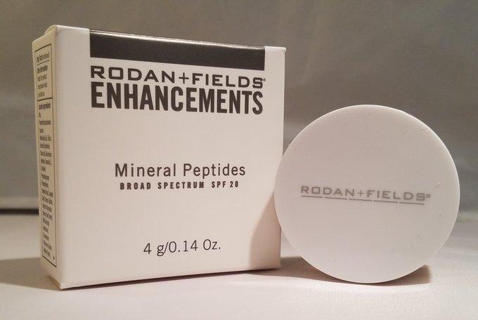 Rodan & Fields Mineral Peptides Broad Spectrum SPF 20 4g .14oz EXP 6/2018 MEDIUM