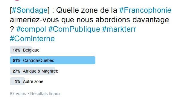 Vous l&#39;avez souhaité, nous l&#39;avons fait ! La #compublique au #Québec à l&#39;honneur. Merci @LatraverseLouis (#ACMQ) &gt;  https:// cercledescommunicants.com/2017/03/20/au- quebec-il-est-impensable-dutiliser-en-communication-publique-des-anglicismes-et-des-emprunts-a-langlais/ &nbsp; … <br>http://pic.twitter.com/7vSl02C4nc