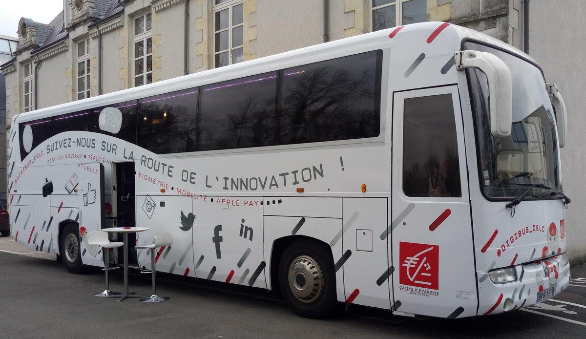 Le @Digibus_CELC est prêt pour demain ! J-1 avant le #CELCDigitalTour #digital #CE_LoireCentre<br>http://pic.twitter.com/J6BULwujxK