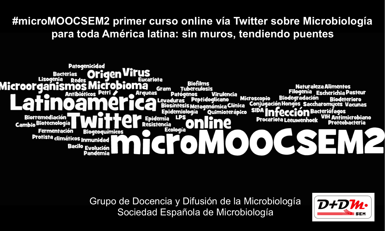 Comienza #microMOOCSEM2 el curso de microbiología vía Twitter y Facebook para España y América latina: rompiendo muros tendiendo puentes https://t.co/2wwpbIdrOo