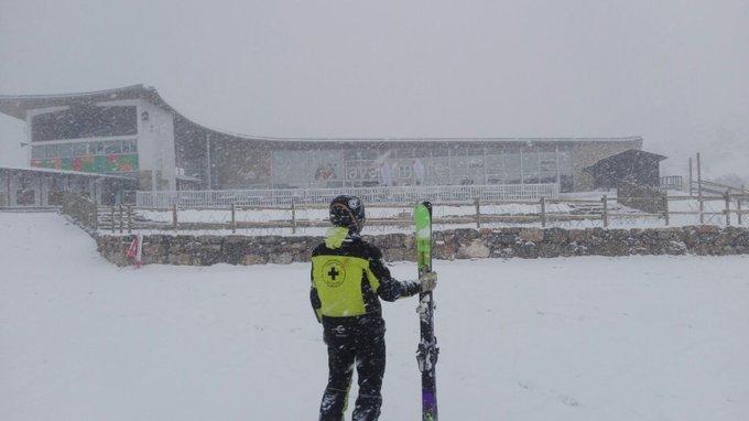 Vuelve a nevar en #Javalambre… y nos encanta!! Y a vosotros??