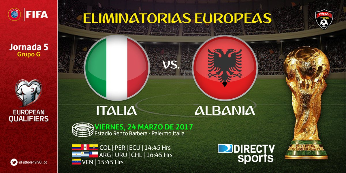 ITALIA ALBANIA Streaming Gratis, online con iPhone Tablet PC: Video YouTube e Facebook Live Stream