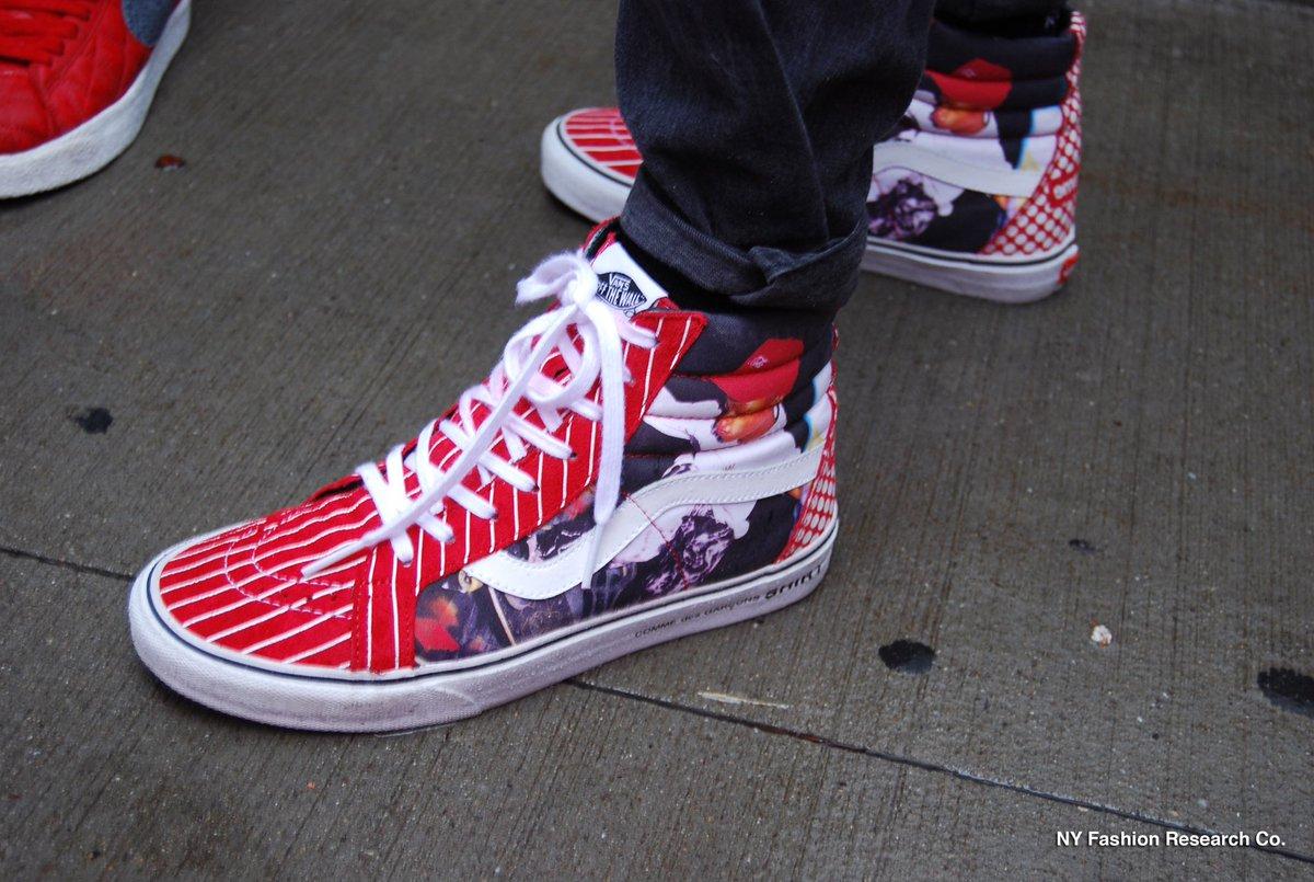 15.Supreme x Comme des GarçonsxVans SK8 Hi  #Supreme #Comme des Garçons #Vans #sneakers #SK8 #sneakers #streets #NY<br>http://pic.twitter.com/4fmfBjJmkN