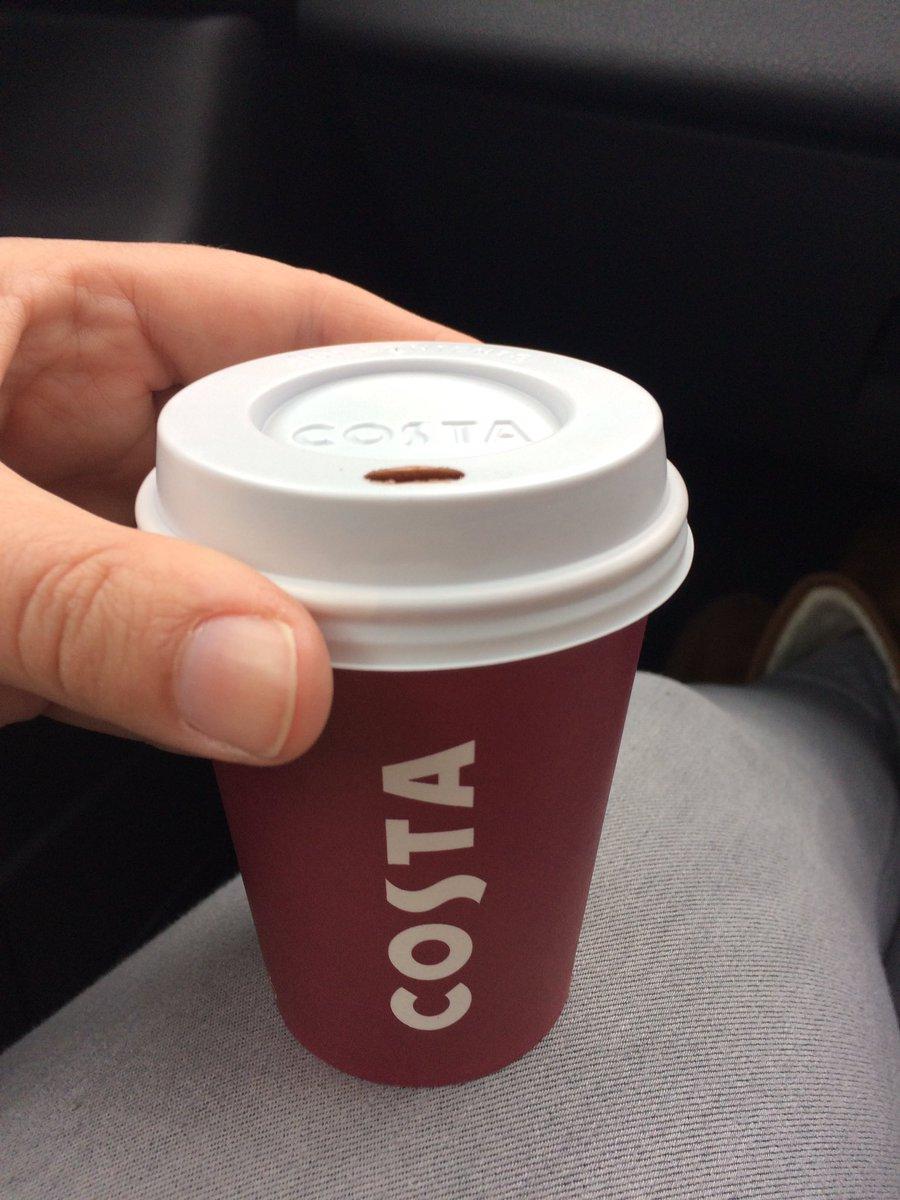 Costa Medio Coffee  Hot Chocolate  Cups approx 330 ml