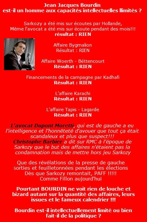 @JJBourdin_RMC fait de la politique sinon il est .... #BFMTV #GGRMC #ITELE #LCI #RTLMatin #RTL #Brunetmetrie #TF1 #C8 #RMC<br>http://pic.twitter.com/580St6wHTZ