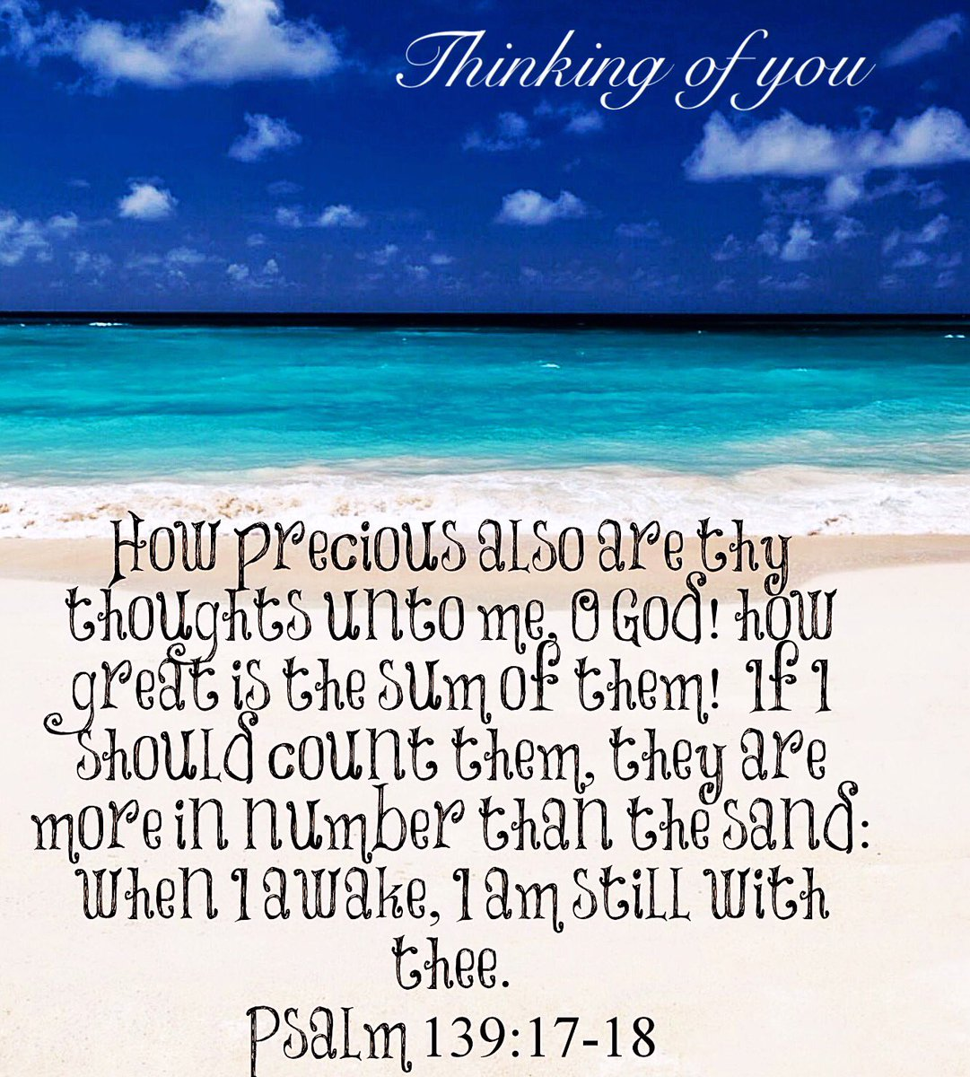 Your thoughts and plans are #Treasures to me I cherish each and every one of them more, than I can count  #ThankYouLord Your Love Covers me<br>http://pic.twitter.com/4PhkADyo9P