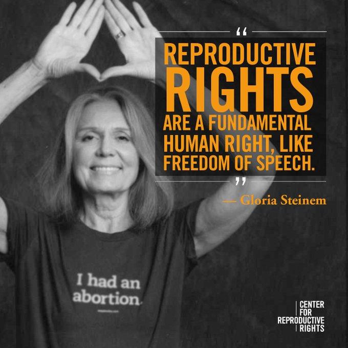 Happy birthday, Gloria Steinem!
