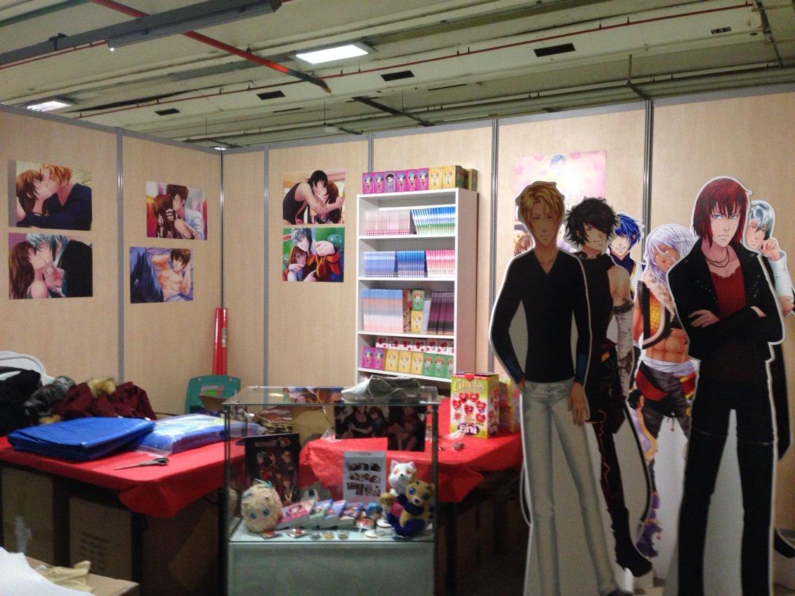 Le stand @beemoov prêt pour la @japan week !! On vous attend nombreuses <3 #As #Eldarya