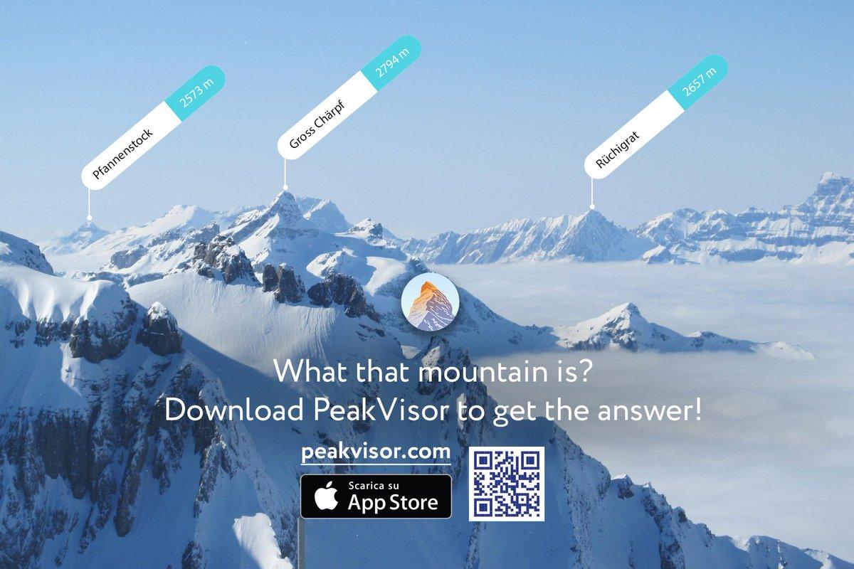 Peak Visor on Twitter PeakVisor app is available for iOS and