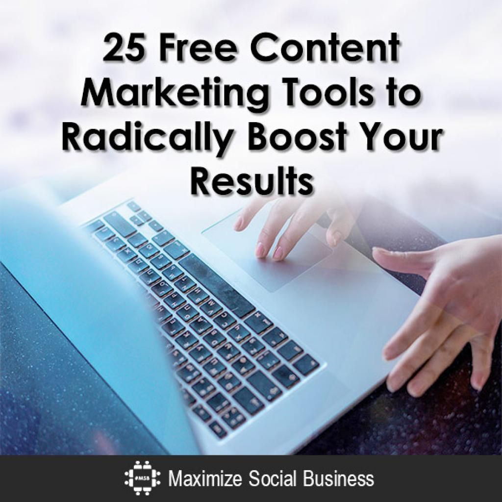 25 Free Content Marketing Tools to Radically Boost Your Results https://t.co/p2FsYAPcmK https://t.co/y2B8GYFRo2