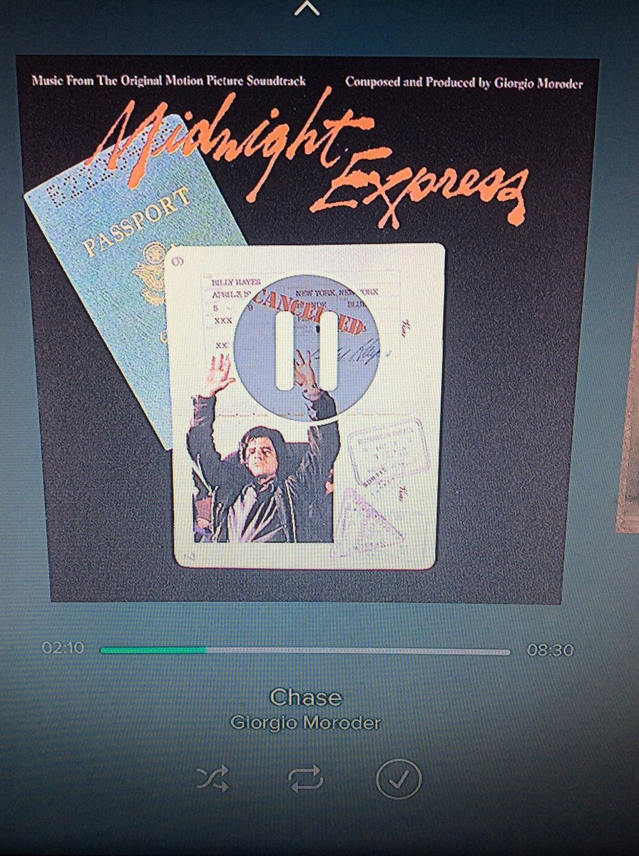 In honor of @TheJimCornette currently listening to #TheChase #MidnightExpress