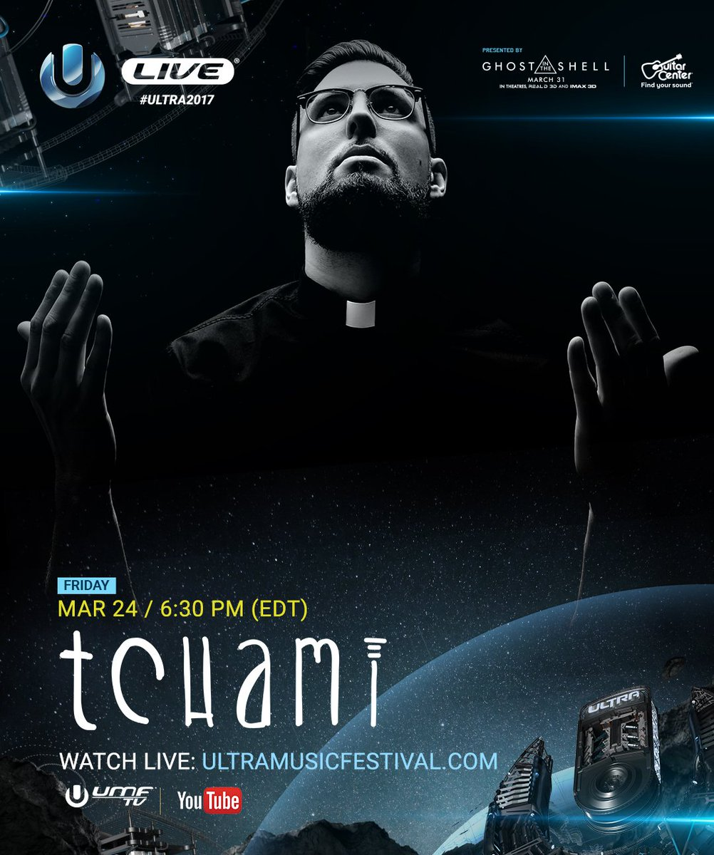 Enter the afterlife with Tchami LIVE from the Main Stage at #Ultra2017...