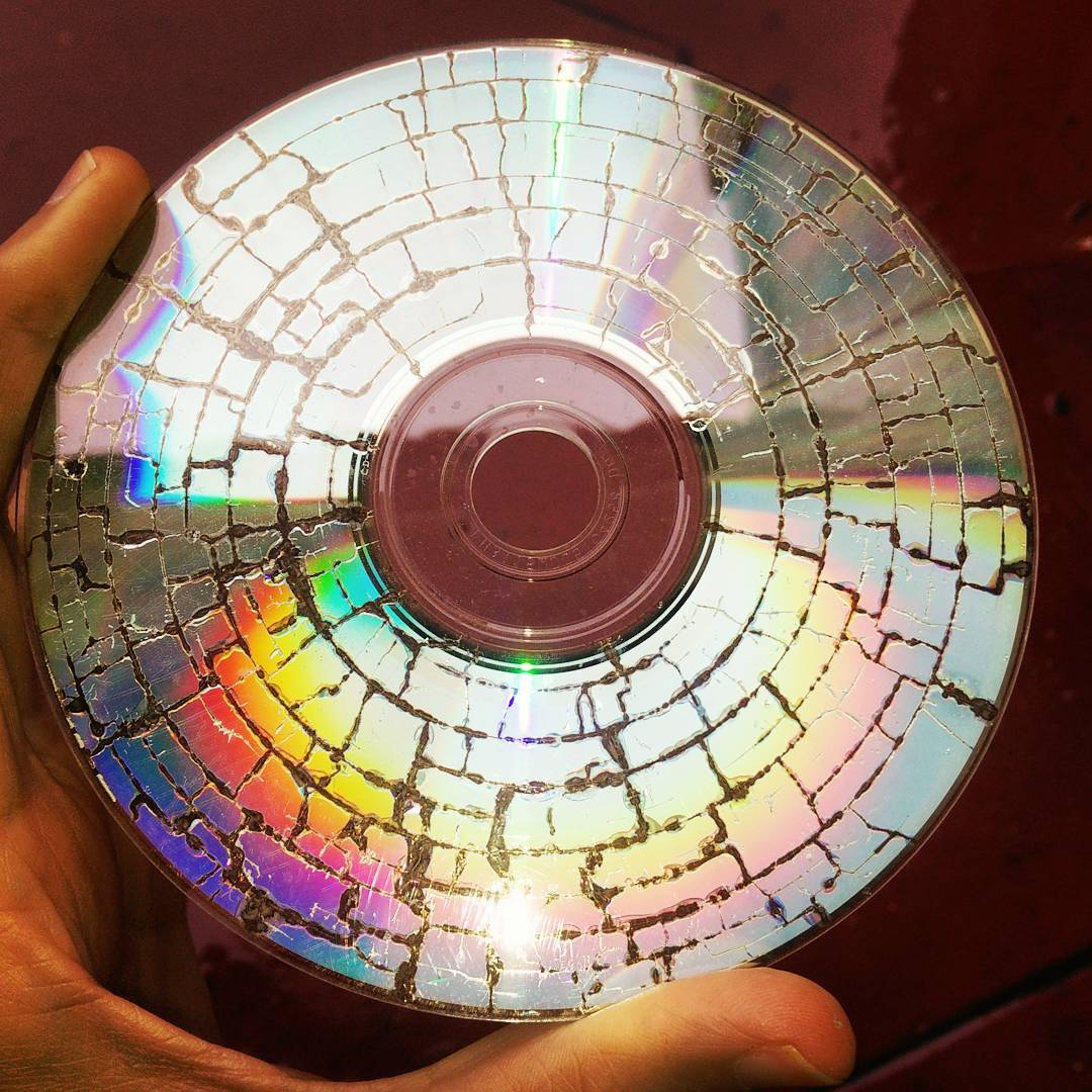 Home brew microwaved CD