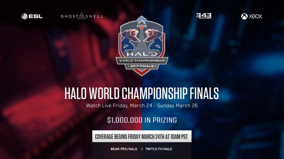Now underway! Tune in to this weekend's #Halo World Championship https...