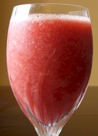 Double Strawberry Smoothie
