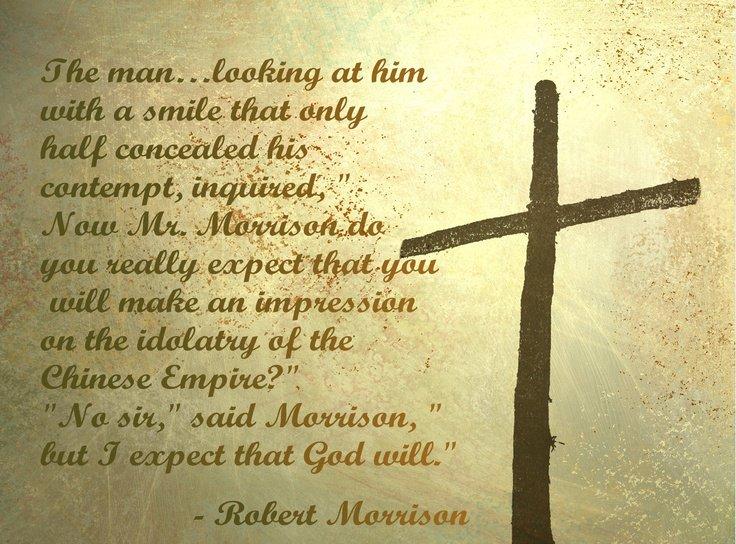 J.G. Morrison #sharethegospel #missionaryquote #Pray #Prayfortheworld #China #gospel #missionary<br>http://pic.twitter.com/ZzWrJz4nPp