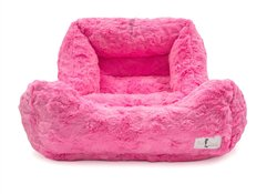 BELLA BED - FUCHSIA! Grab it:   #dogs #dogbed #puppy #dogsoftwitter @PoshPuppy