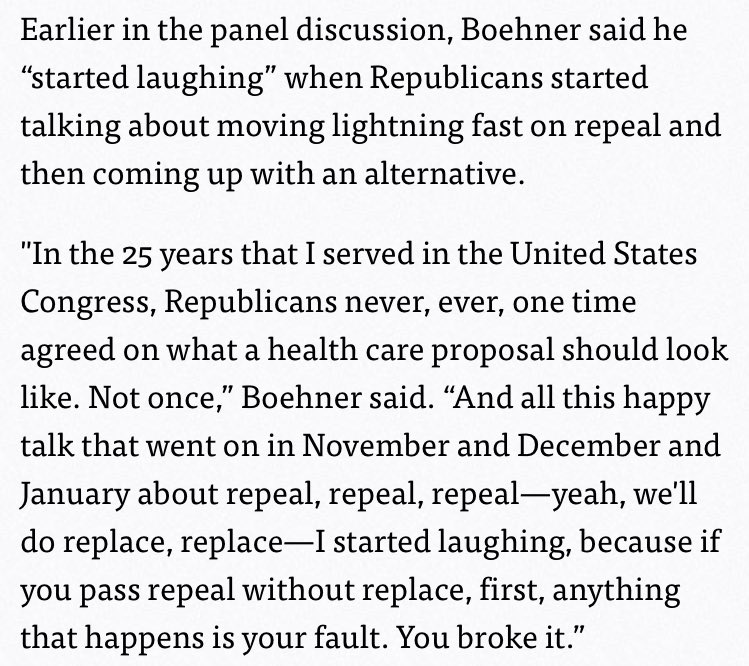 This is what Boehner said in February