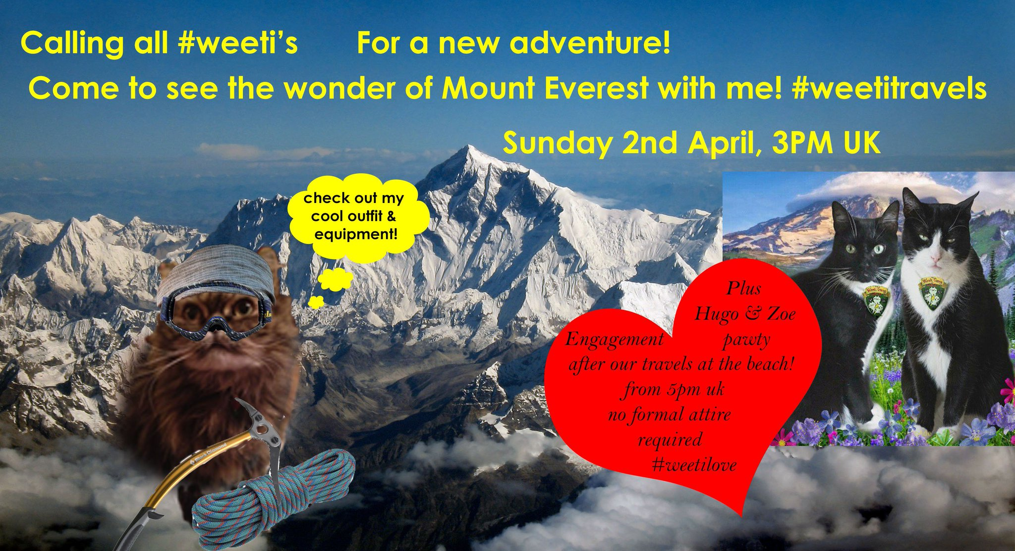 Thumbnail for #weetitravels Mt. Everest