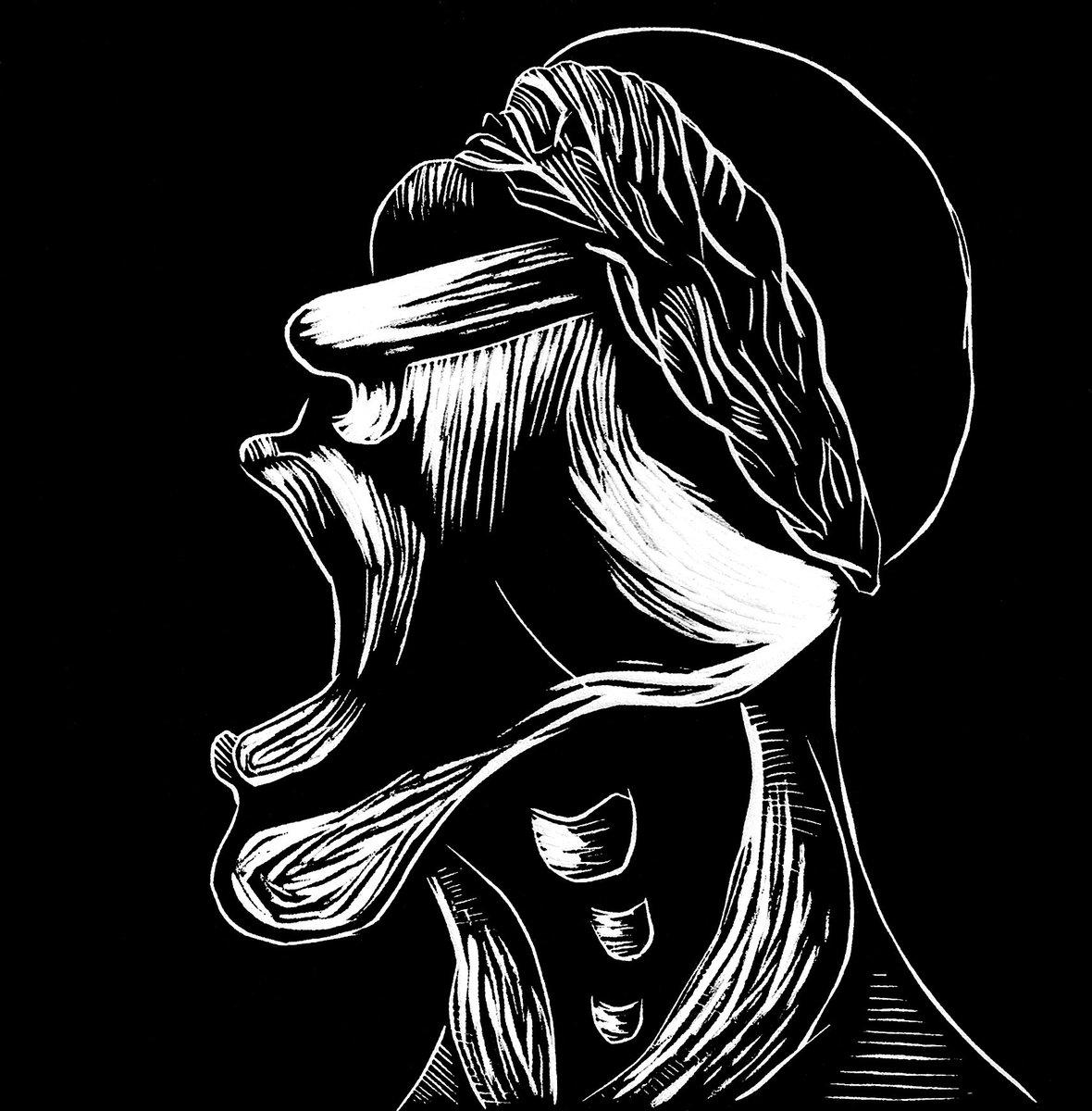 &quot;Lisiado de Guerra / War-disabled&quot; #linocut on rives paper. 2008. Años de Miedo series. #war #art #carlosbarberena #printmaking #grabado <br>http://pic.twitter.com/Kj0kJKh0uA