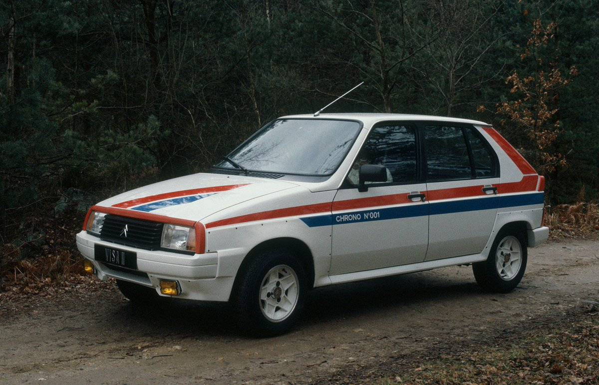 Le 24 mars 1982 était dévoilée la #Citroën #Visa #Chrono, une petite #sportive en édition limitée :  http:// wp.me/p3ZJlB-Qo  &nbsp;   @CitroenFrance<br>http://pic.twitter.com/eYmzNBfpUH