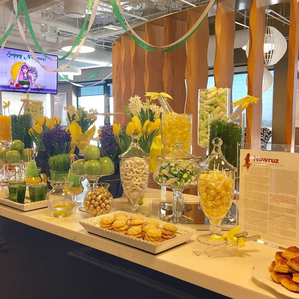 The team members at @cornerstoneondemand are celebrating #Nowruz today...