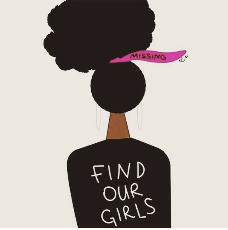 64,000 black/Latina  women from have gone missing since 2014 in America. Help find our girls! https://t.co/9jt5KfoW9p
