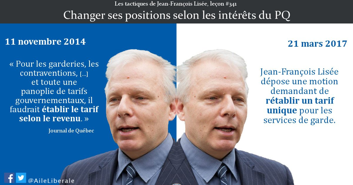 Les contradictions de @JFLisee et du #PQ #polqc<br>http://pic.twitter.com/FDzeGBW5OD