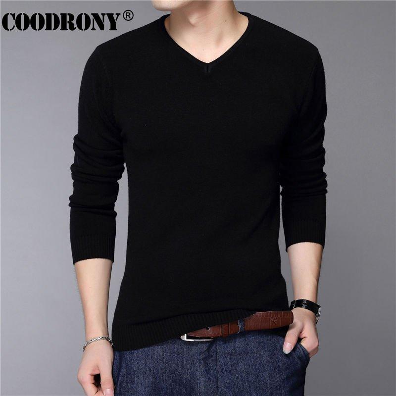 US $15.40 New Fashion Slim Fit Sweater Men #pull #vneck #cashmere #sweatershomme<br>http://pic.twitter.com/cYLWsjTnE3