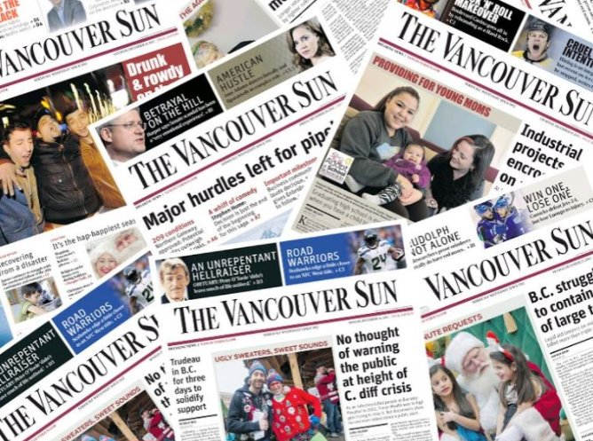 Here is who was laid off today at the Vancouver Sun and The Province https://t.co/MmmQCLWxlK #cdnmedia https://t.co/p5MfizJ1c6
