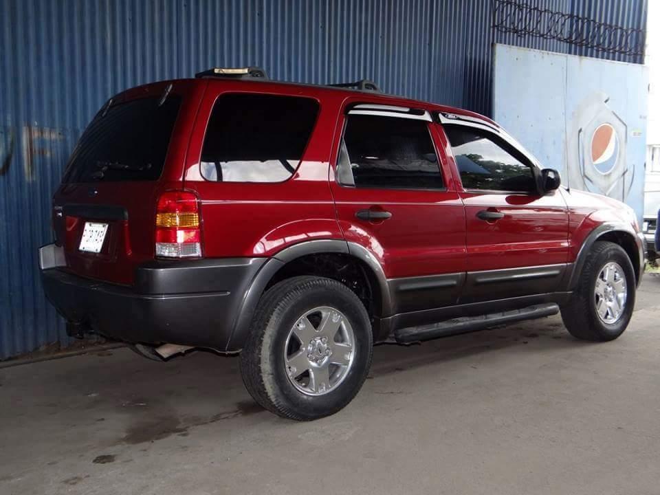 2004 ford escape технические характеристики