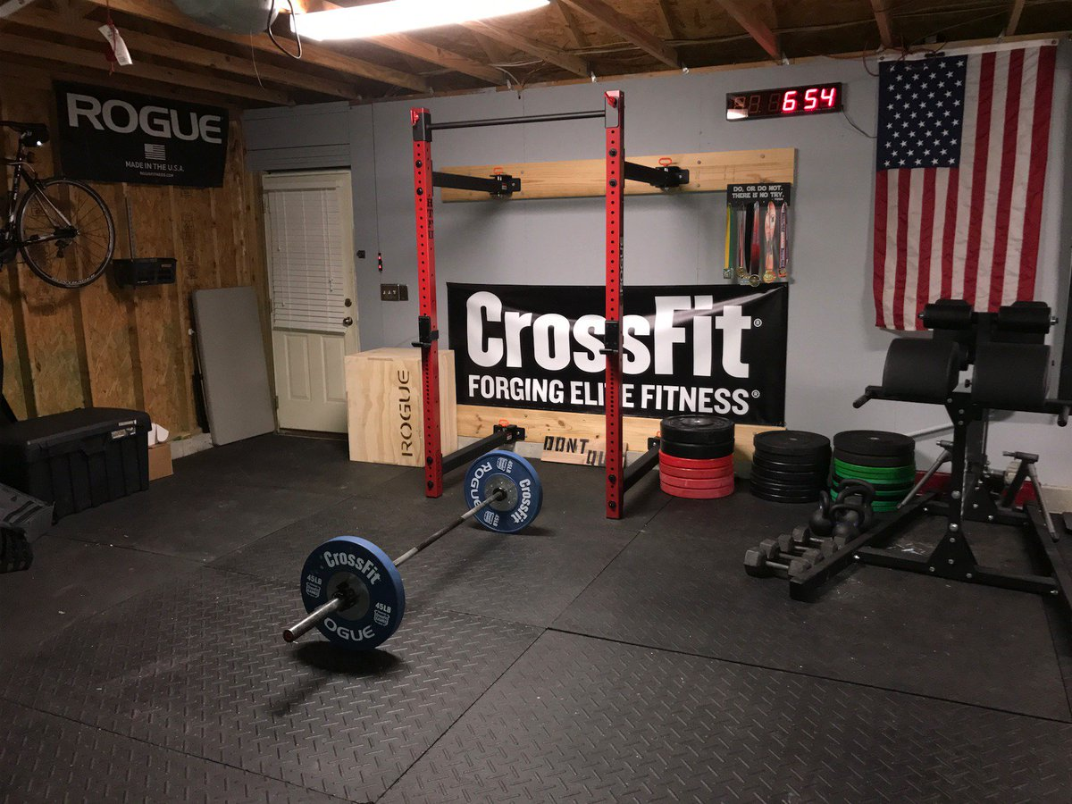 Rogue fitness on twitter quot garage gym courtesy of harry