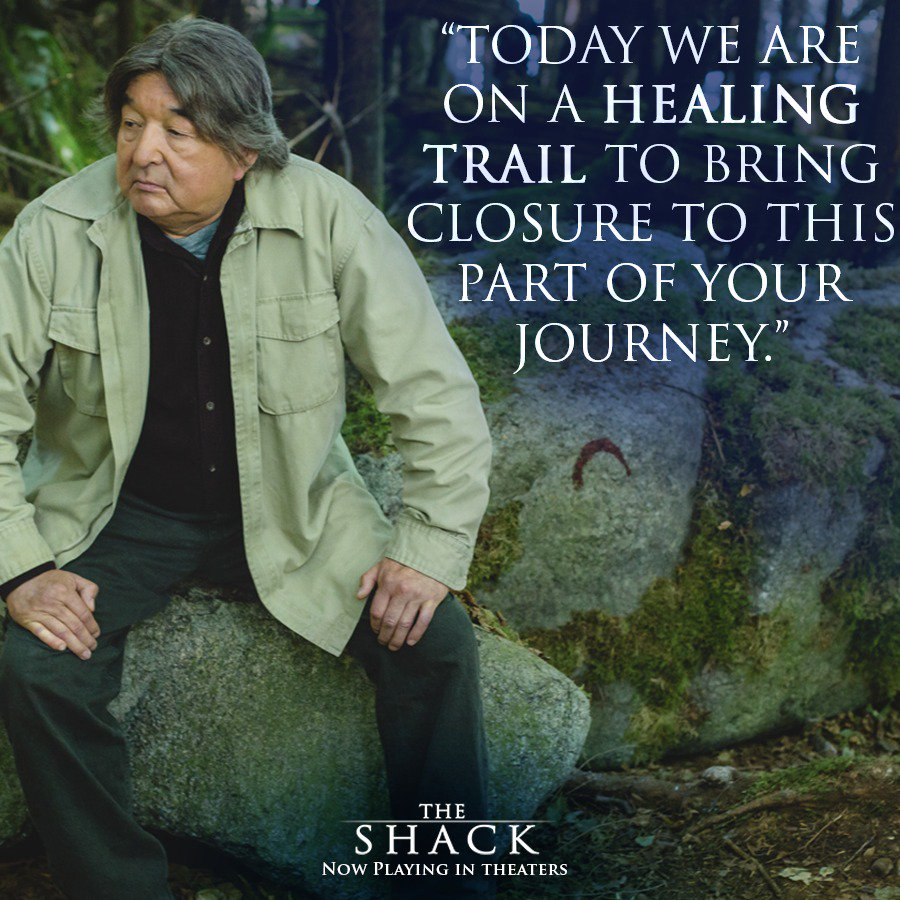 """Quotes From The Shack Movie: The Shack On Twitter: """"Papa's Path For Mack Is One Of"""