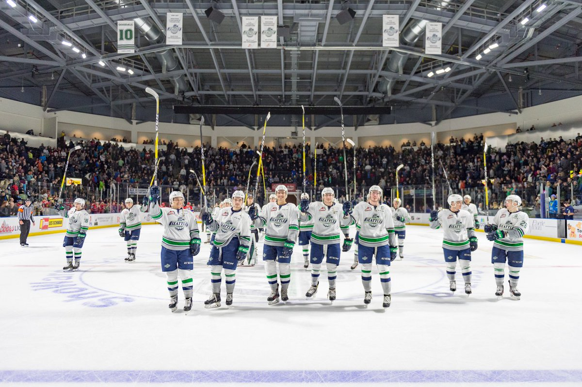 It's time to #WinTheCup, @SeattleTbirds! Good luck in game one of the...