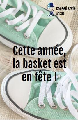 Conseil #style #131 : La #Basket on la porte, on la chérit et on l'adore ! #tendance #fashionblogger #CONSEILS #astuce #OOTD #Mode<br>http://pic.twitter.com/UK2K1aDSw3