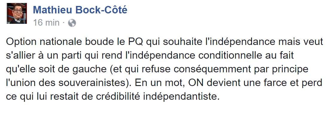 TOUT EST DIT #PolQc #AssNat #PaysQc #Indépendance #PQ #QS #ON<br>http://pic.twitter.com/sxXSBMxHHh