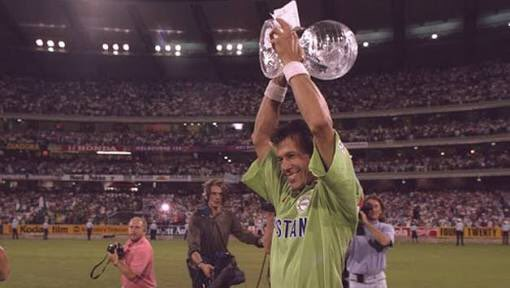 On this day 25 years ago, Pakistan won the 1992 Cricket World Cup in front of 87,182 people at the MCG.