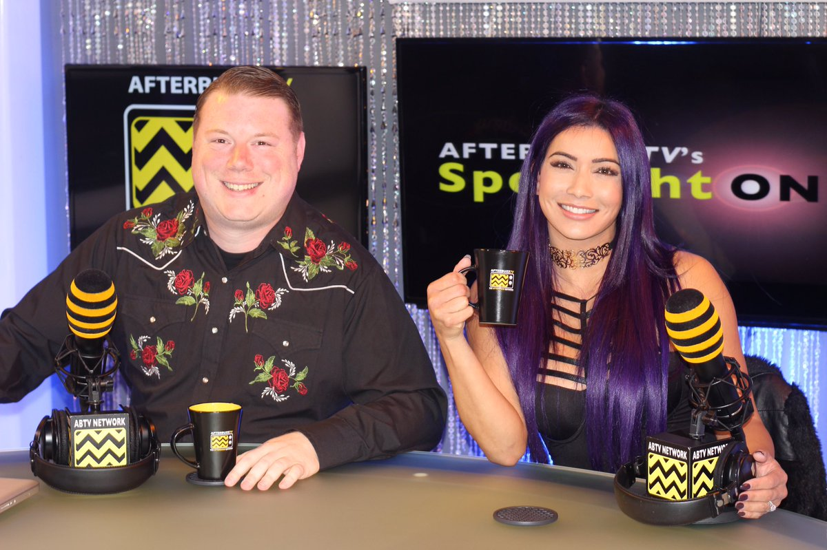 I had a great time today w/ @RealRosenberg at @afterbuzztv ✌🏽️ https:/...