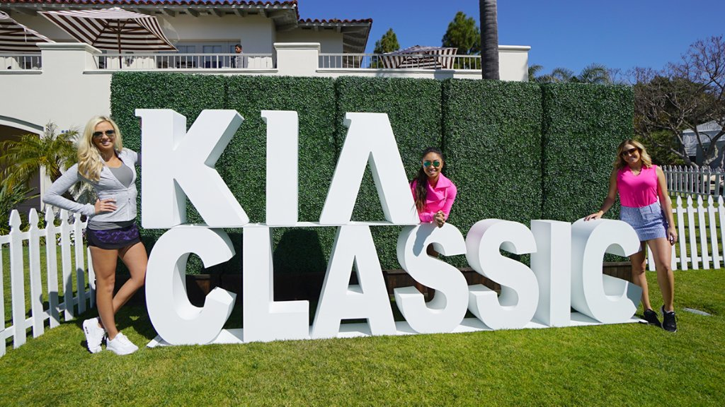 There is no better place than the 2017 #KiaClassic for @Tisha_All_in, @nikkibgolf,  and @EliseLobb to represent girl power! https://t.co/mrRo4URzSR