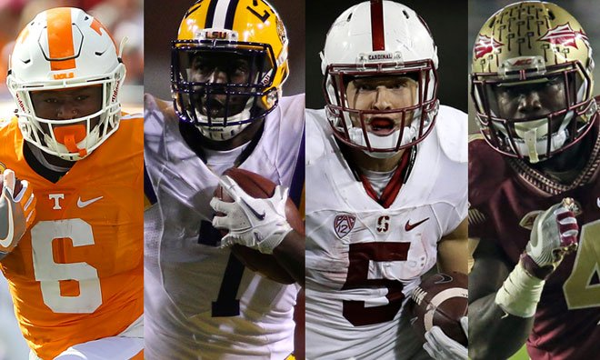 If the Bolts are looking to draft a running back, here are six potenti...