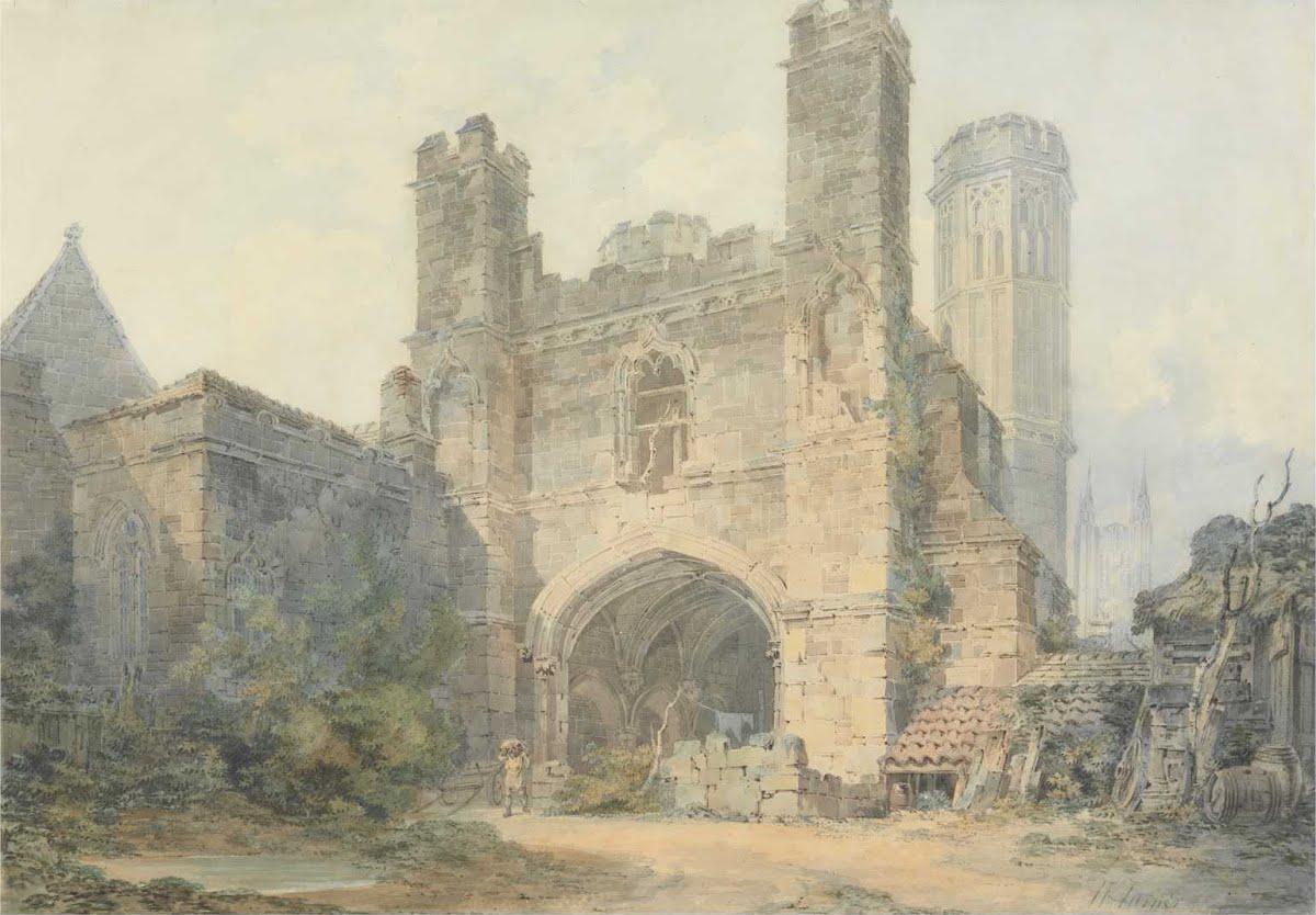 #ArteyArt   #Turner.St Augustine's Gate, Canterbury  @juande4u @amparofashion @RitaCobix @AgnelloPiero @menkareh @sandra_cortess @dianadep1<br>http://pic.twitter.com/rtFT9kXO9A