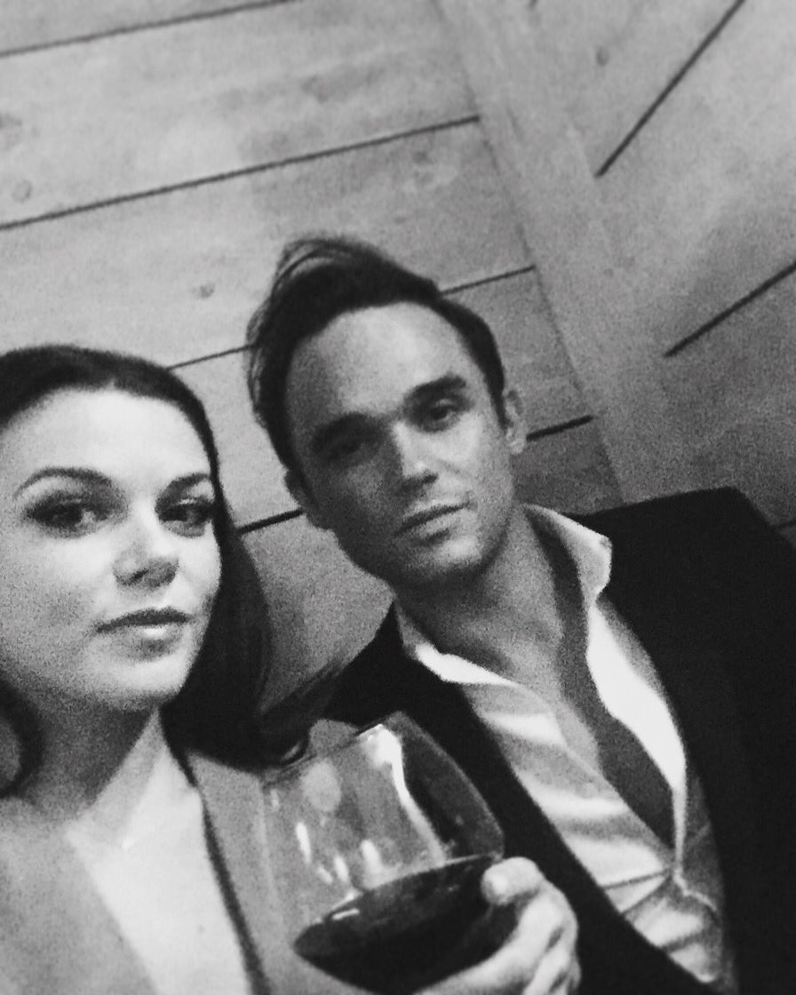 Me and my lady @Faye_Brookes at the launch night of @GinoRestaurants Manchester @cornexchangeMAN https://t.co/q3a9N0fwrT